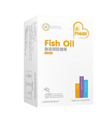 鱼油   凝胶糖果     净含量:22.8g(760mg/粒×30粒)