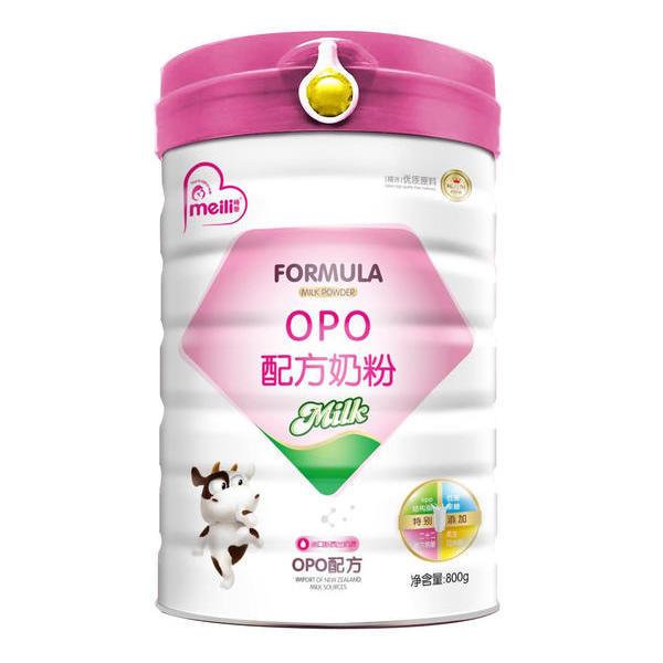 OPO 配方奶粉    800克《6个月以上的婴幼儿》、《特别是吸收不好,偏瘦、挑食的宝宝》都适用