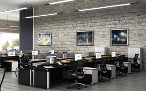 办公室灰色背景墙装饰搭配的技巧
