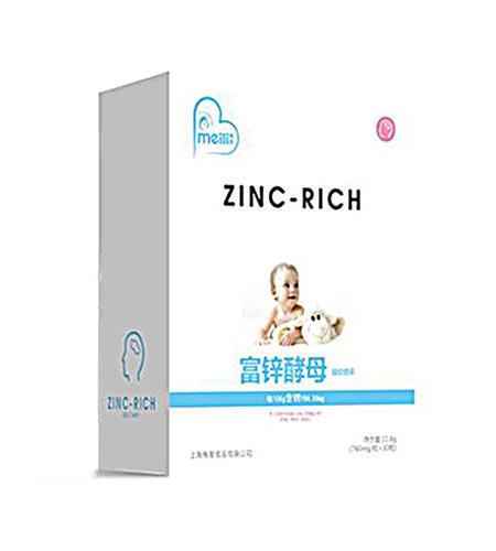 富锌酵母  凝胶糖果   NET 22.8g (760mg/粒×30粒)