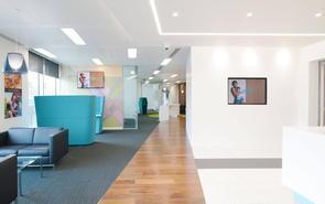 上海4000平米办公楼走廊设计装修的要点