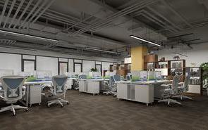 低成本工业风办公室就该这样设计