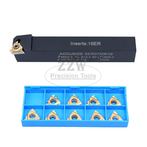 12pcs Un External / Internal Threading Set