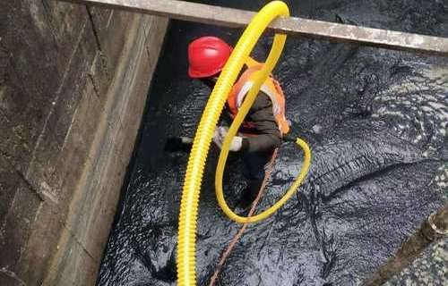 工业污水池清理