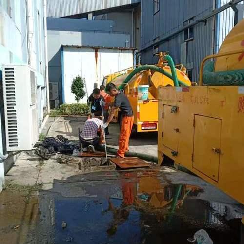 工业园区化粪池清理