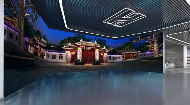 海怡建设企业展厅