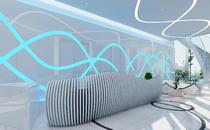 现代科技装修设计 | 奉贤蓝信空间设计