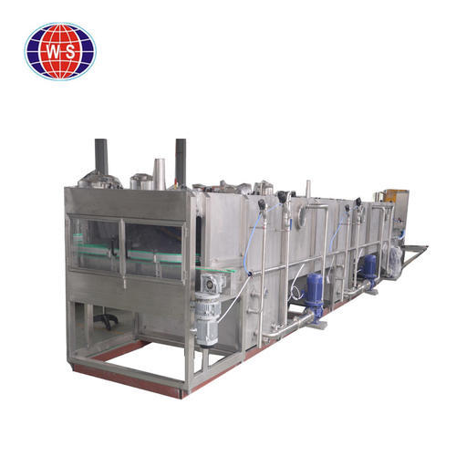 continuous spray sterilizer