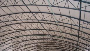 按标注的尺寸直接进行计算钢结构的成本