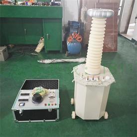 120KV/60KV熔噴布無紡布大功率高壓靜電駐極發生器