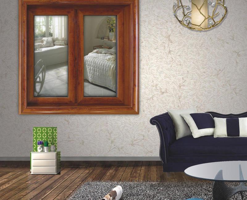 108 系列隔热窗纱一体型材