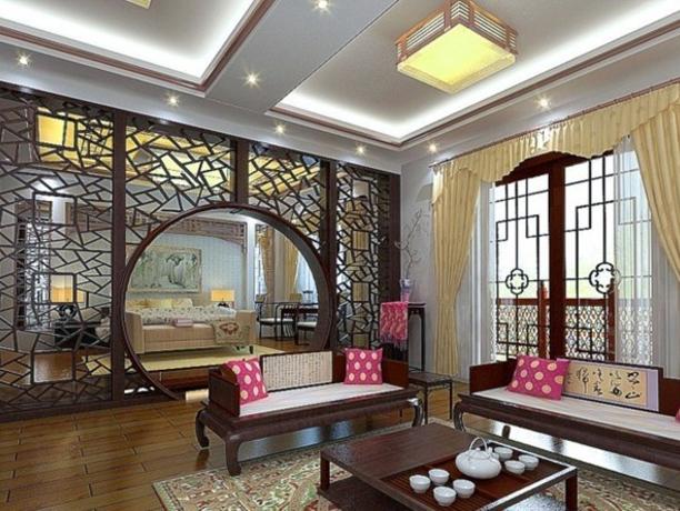 关于新中式风格的客厅背景墙应该怎么设计?