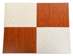 厂家直销pvc竹木纤维集成墙板新型快装墙板卡扣石塑板墙面吊顶