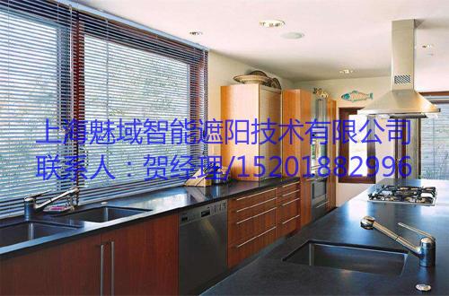 电动百叶帘,上海魅域智能遮阳技术有限公司