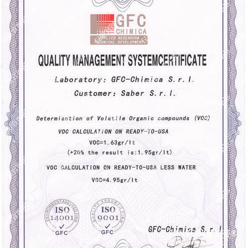 GFC质量管理体系认证