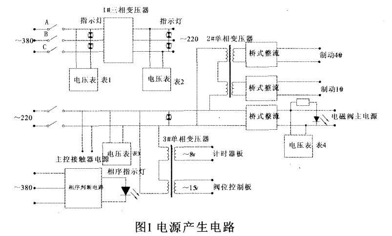 电源产生电路图