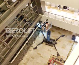 梯诺租赁30米蜘蛛车服务宝龙城市广场