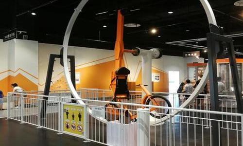 360旋转单车