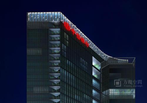 深圳中信信用卡中心幕墙发光字