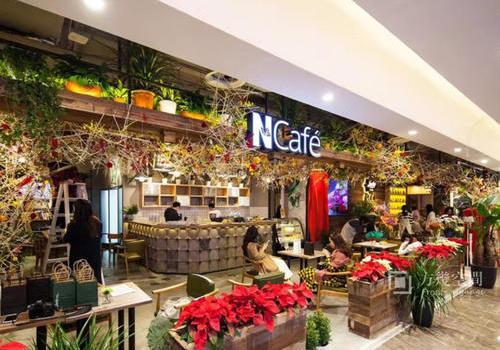 深圳Ncafe门店标识