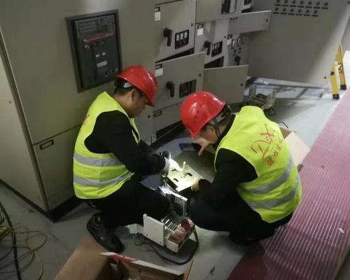 万豊奥特控股强弱电安装工程