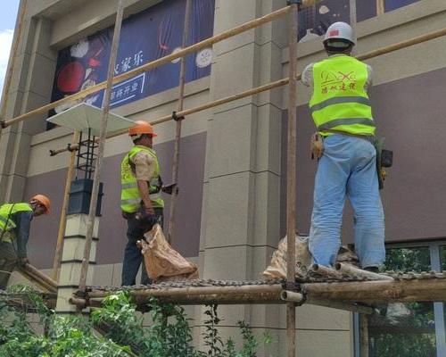 震旦办公楼外墙幕墙工程