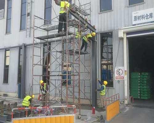 震旦工程外墙幕墙工程