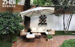 好物│别墅装修遮阳挡雨高颜值,家里用这个