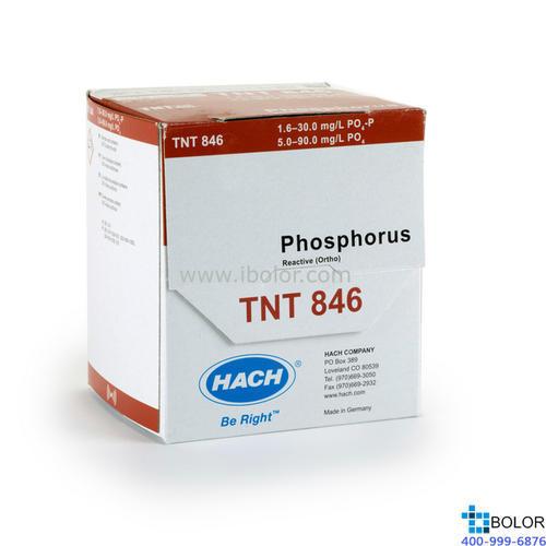 TNT846 磷酸盐试剂 5.0-90.0mg/L 100次 HACH/哈希