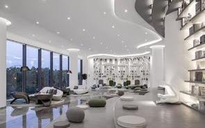 基金公司辦公室裝修設計方案