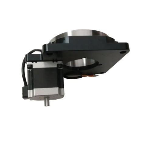 DG130中空旋转平台电动旋转平台减速机可替代DD马达东方旋转平台