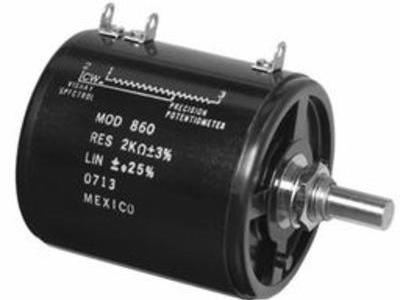 vishay spectrol单匝导电塑料精密电位器