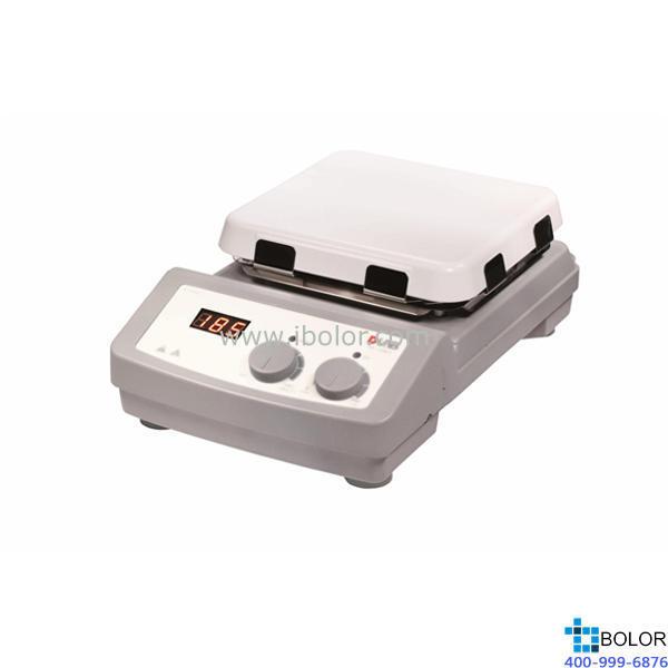 大龙 LCD数控加热型7寸方盘磁力搅拌器 MS7-H550-S