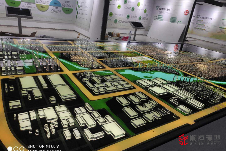 城市規劃|濟寧云創科技小鎮沙盤