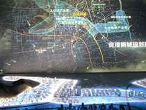 折幕投影|杭州投影沙盤模型