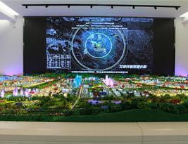 城市规划|兰州榆中县城市规划沙盘模型