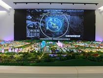 城市規劃|蘭州榆中縣城市規劃沙盤模型