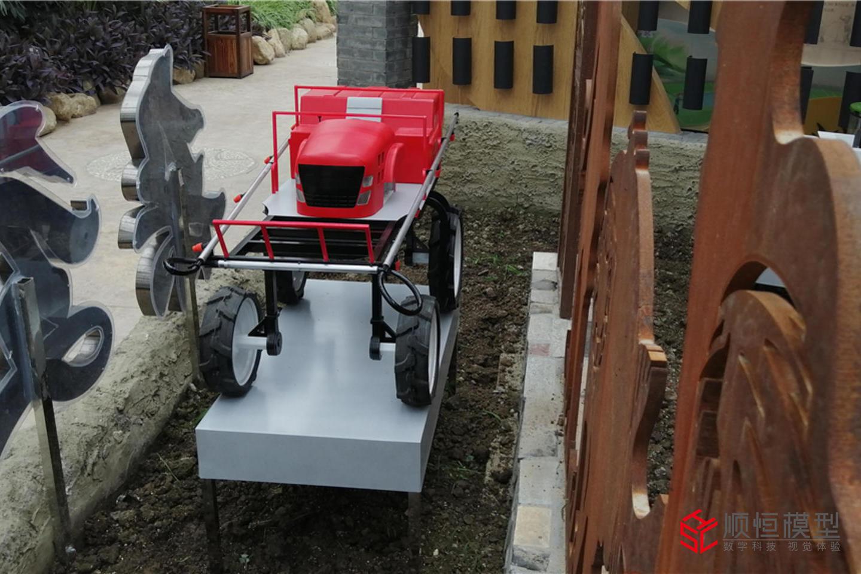 智慧農業 濟寧農業機械模型
