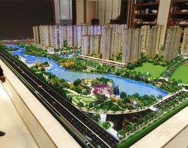 房地产建筑|绿地国际花都沙盘项目