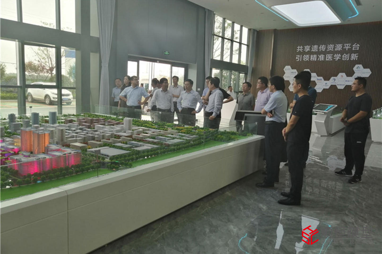 城市規劃|山東濟南產業園沙盤項目