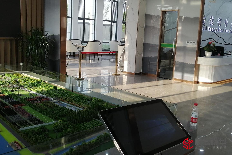 智慧城市|華南陵園項目沙盤