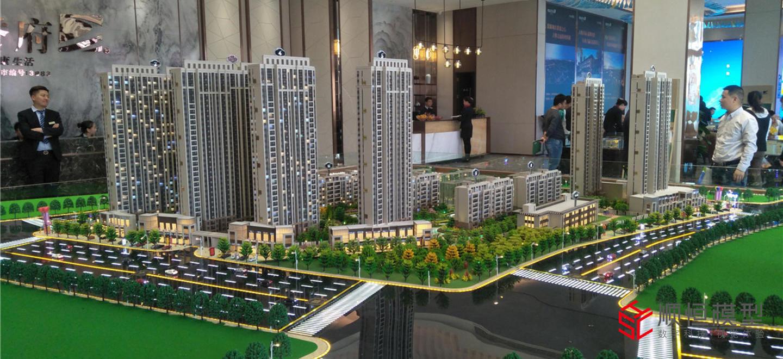 房地產建筑 奧園譽府沙盤項目