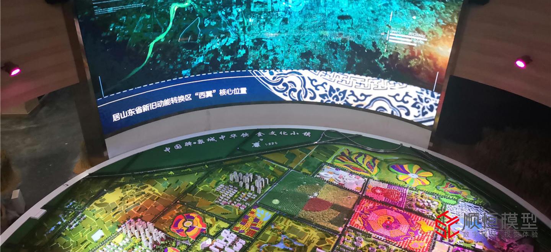 城市规划|山东中国驿中华饮食小镇沙盘