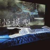 杭州投影沙盘模型