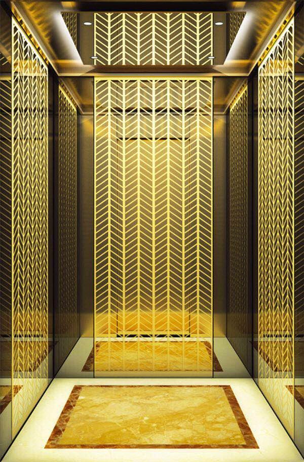电梯装修、装饰、装潢使用金属面板的注意事项