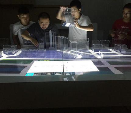 温玛科技数字沙盘携手中心亮相世界互联网大会