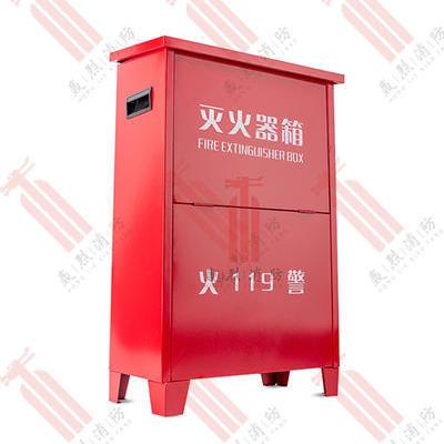 红色加厚灭火器箱