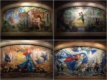 城堡馬賽克壁畫(實景)