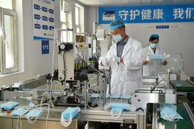 新疆最大熔喷布生产企业在克拉玛依正式投产