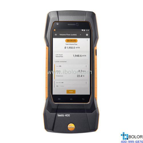 testo 400 - 智能型参比级多功能测量仪 订货号  0560 0400